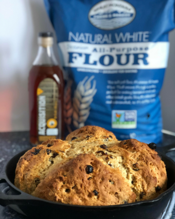 Irish Soda Bread with Whisky Soaked Raisins | Headframe ...